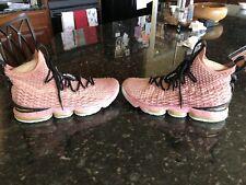 lebron 15 rust pink Size 12