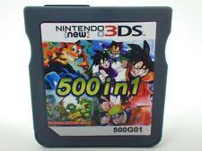 500 in 1 Game Games Cartridge Multicart For Nintendo DS NDS NDSL NDSi 2DS 3DS