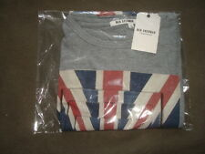 BEN SHERMAN ORIGINAL T-SHIRT WITH UNITED KINGDOM FLAG SIZE L
