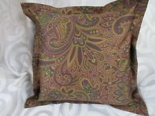"New SHAM 18"" x 18"" Ralph Lauren BOHEMIAN Fabric  Custom  Made  * Sateen"