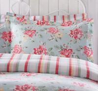 Cath Kidston King Size Duvet Cover Box Flora Floral Aqua Brand new
