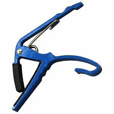 Folk Acoustic Electric Blue Tune Quick to Change Trigger Guitar Capo Key Clamp