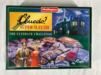 Waddingtons Cluedo Super Sleuth Ultimate Challenge 1995 Edition 100 % Complete