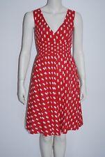 SENZA * Sommerkleid * Rot mit Punkten * Kleid * DRESS * Größe 38 * Baumwolle