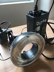 Elinchrom Quadra Hybrid Ranger RX with Ring Flash
