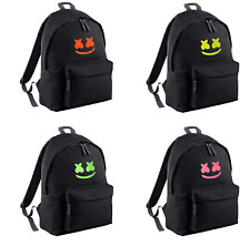 Youth kids MARSHMELLO INSPIRED gym school backpack MERCH PERSONALISED FREE