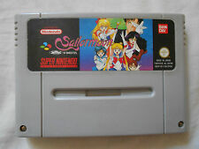 SAILORMOON PAL FRA / SFRA SUPERNINTENDO SNES SAILOR MOON JEU SPIEL GAME JUEGO