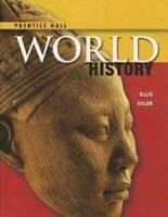 HIGH SCHOOL WORLD HISTORY 2014 PEARSON STUDENT EDITION SURVEY GRADE 9/12 - GOOD