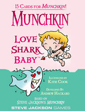 Munchkin Expansion Love Shark Baby Booster Pack Steve Jackson Games New