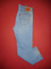 Levi Strauss 505 - Waist 38 Leg 32 - Mens Blue Denim Jeans - X128