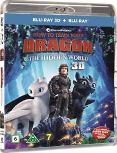 How to Train Your Dragon: The Hidden World 3D + 2D Blu Ray