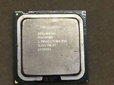Intel Pentium 4. 3.80 GHz SL82U. CPU Processor.