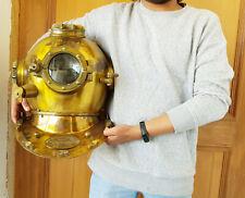 Vintage Diving Helmet Commando Deep Sea Scuba Antique Diving helmet Royal Gift