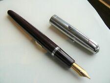 Serviced Parker VS 18ct Medium Nib Fountain Pen
