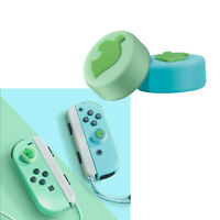 4Pcs Silicone Joystick Thumb Grips Cap for Animal Crossing Nintendo Switch
