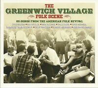 THE GREENWICH VILLAGE FOLK SCENE - 3 CD BOX SET - AMERICAN FOLK REVIVAL