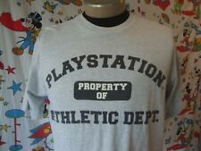 Vintage Sony Playstation Game Day 98 90's Athletic Dept 1998 NFL T Shirt Sz XL