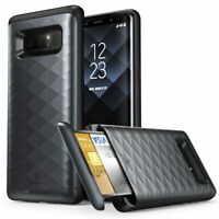 For Samsung Galaxy Note 8 Case, Clayco Argos Protective Cover with ID Card Slot
