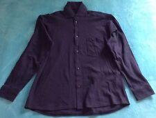 Vintage Panerai Long Sleeve Button Down Shirt Navy XXL New