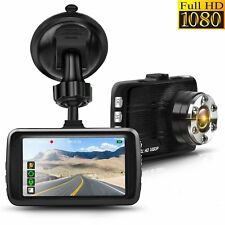 "Full HD 1080P Car Dash Cam DVR 3.0"" LTPS Display G-Sensor Night Vision WDR"