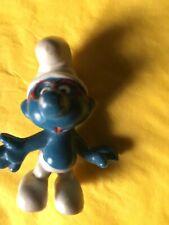 Vintage 1970s Figure Smurf in Glasses Peyo