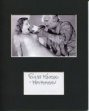 Elyse Knox Harmon The Mummy's Tomb Signed Autograph Photo Display