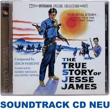 The True Story of Jesse James - Leigh Harline - Soundtrack CD NEU (INTRADA) oop