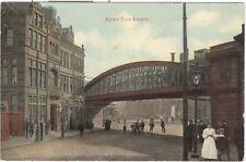 Market Place, Longton nr. Stoke-on-Trent - railway bridge