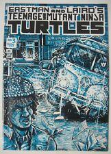 TEENAGE MUTANT NINJA TURTLES #3 1st Print 1985 MIRAGE STUDIOS EASTMAN & LAIRD