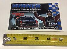 NASCAR KBM Winner Decal #18 Kyle Busch Camping World RV Service 300 Auto Club 08