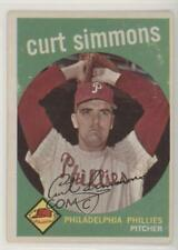 1959 Topps Curt Simmons #382