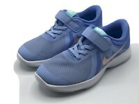 Nike Kids Size 10.5c Revolution 4 (PS)  BV7443 400 Blue Pink - New in Box