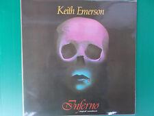 "LP KEITH EMERSON ""INFERNO"" ORIGINALE CINEVOX 1980 GATEFOLD"
