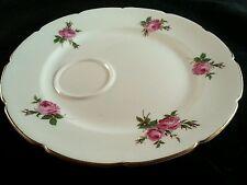 Royal Stuart Bone China Pink Roses Snack Plates Made in England