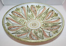 """Bourne Denby - Glyn Colledge Studio Pottery - 12"""" Footed Fruit Bowl - vgc"""