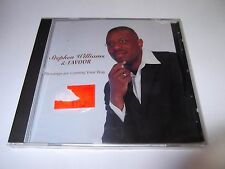 Stephen Williams & Favour: Blessings Are Coming Your Way SEALED CD - Gospel