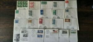 Lot of 1959 United States FDCs - No addresses and Unsealed; MNH