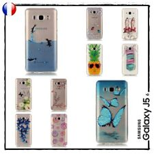 Etui Housse Coque Transparente Silicone TPU Case Cover Samsung Galaxy J5 2016