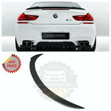 CS STYLE REAL CARBON FIBER TRUNK SPOILER FOR 13-19 BMW 6 SERIES / M6 GRAND COUPE