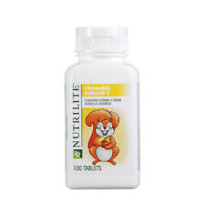 Amway Nutrilite Kids Chewable Natural C 1 x 100 Tablets 100% Original