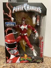 Power Rangers Legacy collection Limited Edition Red Ranger Figure