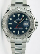 Rolex Yachtmaster Platinum Blue Dial 40mm 116622 Rehaut - WATCH CHEST