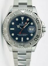 Rolex Yachtmaster Platinum Blue Dial 40mm 116622 Rehaut - WATCH CHEST