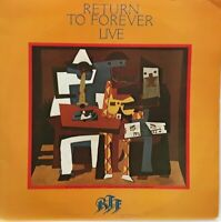 Chick Corea Return To Forever ‎/ Live UK 1978 Excellent LP vinyl