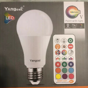 2 Pack 9W/75Watt Smart Light Bulb E26 LED Color Changing Bulb Work