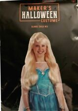 Maker's Halloween child's blonde wig.