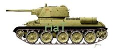 Armourfast 1/72nd Scale WWII Russian T34 w 76mm Gun 1943 2 Set 2 Pcs NEW