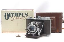 @ Ship in 24 Hrs @ Rare OIC in Box! @ Olympus Six 6x6 6x4.5 Medium Format Camera
