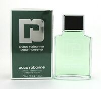 Paco Rabanne Pour Homme After Shave Lotion 3.4 oz./ 100 ml. New in Sealed Box