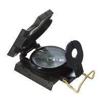 Metal Lensatic Compass militaire Camping randonnée armée style survie marche HQ